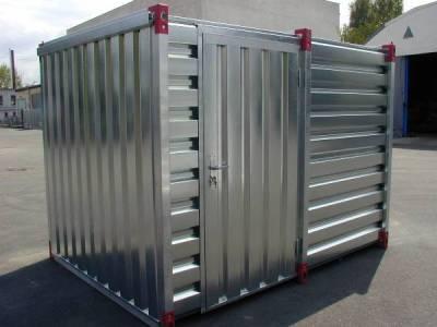 Les containers de stockage en kit : quelle utilité sur un chantier ?
