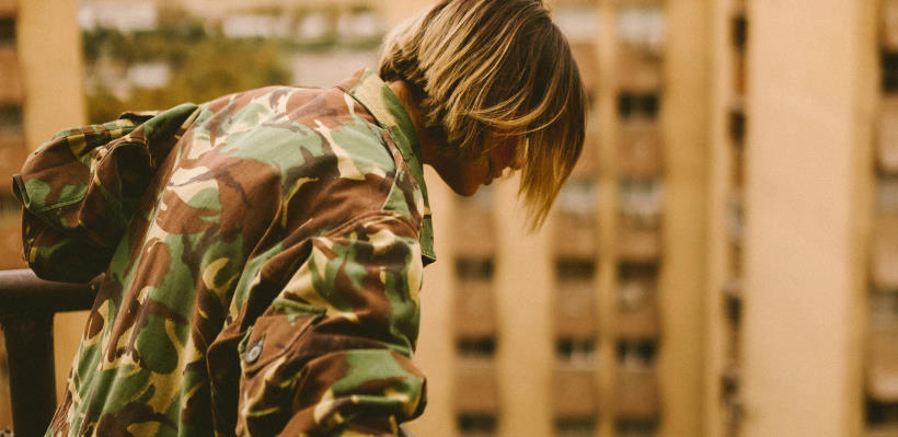 Comment porter des shorts camouflage pour femme ?